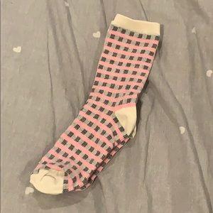 CLEARANCE!!! girls checkered socks